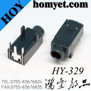 3.5mm Phone Jack DIP Type Audio Jack (HY-329) pictures & photos