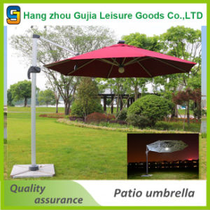 Waterproof Durable Advertising Side Umbrella with Customized Printing pictures & photos