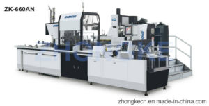 Full Automatic Box Making Machine (passed CE) pictures & photos