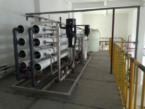 Ce Certificate Purified RO Water Plant for Battery /Solar Panel Washing pictures & photos