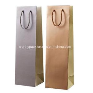 Custom Printed Wine Bottle Packaging Wine Paper Bags pictures & photos