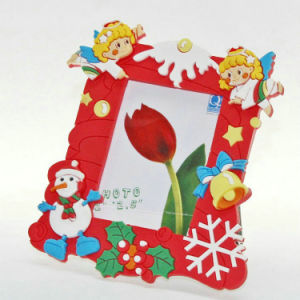 Custom Promotional Wholesales Soft PVC Rubber Photo Frame pictures & photos