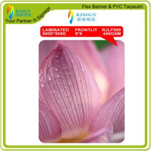 PVC Laminated Backlit Flex Banner Digital Printing pictures & photos