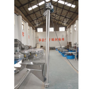 Flexible Spiral Vertical Auger Screw Conveyor pictures & photos