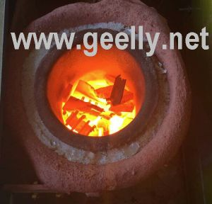 Induction Melting Furnace for Melting Metals of Tin, Lead, Zinc, Aluminum Alloy etc pictures & photos