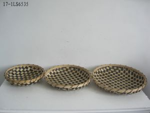 Bamboo Plate for Garden Decoration pictures & photos