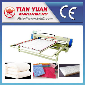 Single Needle Computerized Mattress Quilting Machine pictures & photos