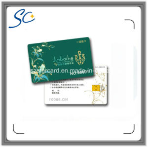 Free Samples Sle5542 Plastic Smart Contact IC Card for Shopping