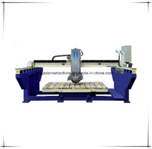PLC Controlled Bridge Saw Stone Cutting Machine for Granite Marble Kitchentop (XZQQ625A) pictures & photos
