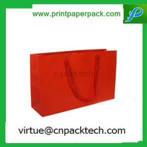 Candy Color Sweety Customized Kraft Gift Paper Bag with Pure Hue pictures & photos