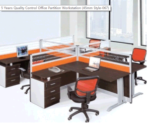 Office Furniture China Supplier Laminate Call Center Office Workstation Fec 067 pictures & photos