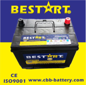 12V60ah Bci-24 Car Battery for USA Market pictures & photos