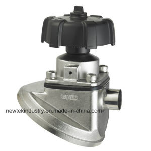 Hygienic Ss316L Manual Tank Bottom Diaphragm Valve Price pictures & photos