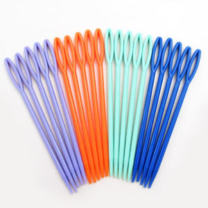 Hot Sale Plastic Sewing Needles/Knitting Needles, DIY Accessories pictures & photos