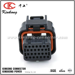26 Pin Tyco/AMP Te Superseal 1.0mm Series Female Automotive ECU Connector pictures & photos