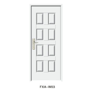 Single Pane Pivot American Steel Door (FXA-R03) pictures & photos