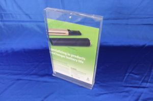 Customize Clear Acrylic Display Leaflet Stand Holder pictures & photos