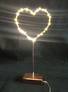 Metal Table Light Decoration LED Light with Copper Wire pictures & photos