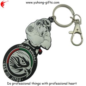 Customized 3D Soft PVC Keychain Key Ring (YH-KC095) pictures & photos