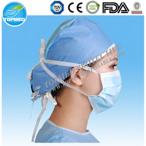 Disposable Nonwoven 3ply Surgical Face Mask for Medical/Hospital pictures & photos