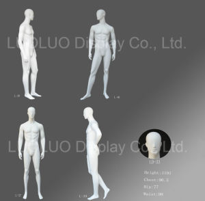 Fashion Male Dress Form Mannequin with Abstract Face pictures & photos