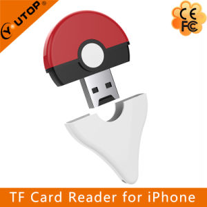 Microsd (TF) OTG Card Reader for iPhone iPad iPod (YT-R009) pictures & photos