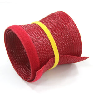 Flexible Pet Expandable Braided Sleeve Cable Sock with Velcro pictures & photos