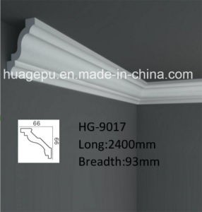 Polyurethane PU Foam Ceiling Crown Cornice Moulding pictures & photos