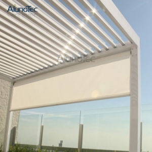 Aluminum Pergola Automatic Louvers Manufacturers pictures & photos
