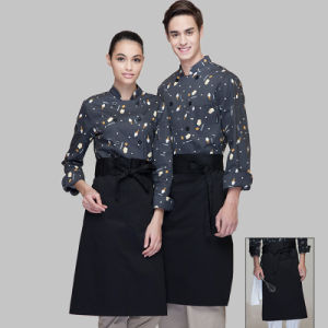 High Quality Fancy Italian Restuarant Chef Uniform of Cotton pictures & photos