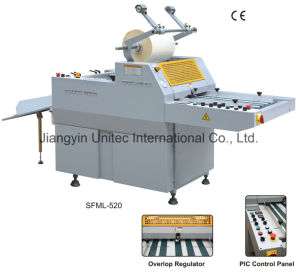 New Products Hot Sale Thermal Roll Laminating Machine Sfml-520 pictures & photos