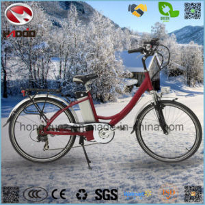 Alloy Frame 250W Good Quality Electric City Road Bike pictures & photos