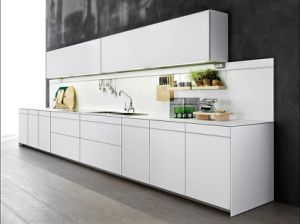 New Design Modern High Gloss Lacquer Wooden Wholesale Kitchen Cabinets pictures & photos
