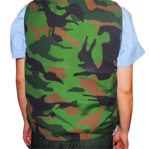 Hot! Anti-Stab Safety Anti-Bullet Kevlar Plates Multi-Pockets Military Green Tactical Outdoor Travelling Quick-Release Vest pictures & photos