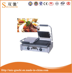 Stainless Steel Double Contact Grill Flat Griddle Pan pictures & photos