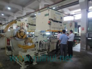 Straightener with Nc Servo Feeder and Uncoiler Use in Press Machine Help to Make Car Parts pictures & photos