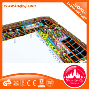 Large Trampoline Game Indoor Playground with Sponge pictures & photos