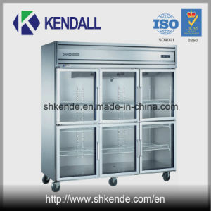 Frost Free Kitchen Refrigerator with Multi Glass Doors
