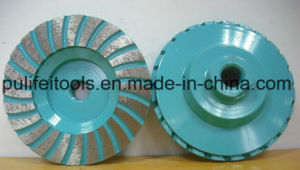 Abrasive Grinding Cup Wheel for Steel Base with Metal Segment pictures & photos