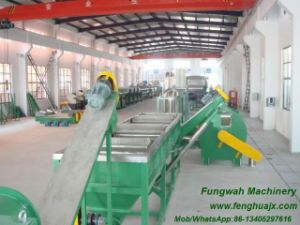 Plastic Film Crushing Washing Drying Line pictures & photos
