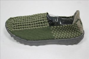 Men Fashion Sport Shoes Woven pictures & photos
