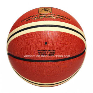 Brand Name Laminated Composite Leather Basketball pictures & photos
