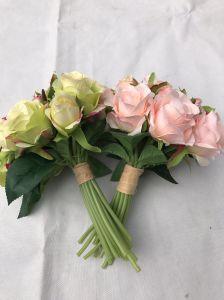 Wedding Decoration Artificial False Rose Silk Flowers Garden pictures & photos