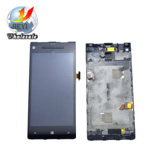 Mobile Phone LCD screen for HTC 8X LCD Display Touch Screen with Digitizer Assembly + Bezel Frame pictures & photos