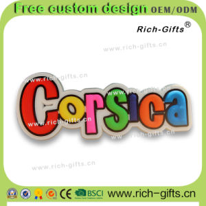 Customized Promotional Gifts Decoration Aimant Fridge Magnets Souvenir Corsica (RC-FR)