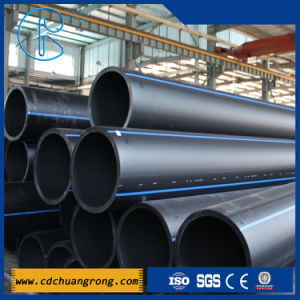 HDPE Plastic Pipe for Water Supply (PE100 or PE80) pictures & photos