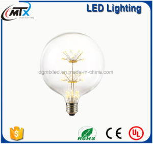 LED Edison Filament Light bulb E27 220V 0.5W Firework Globe Energy saving Bulb pictures & photos