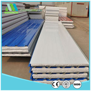 Blue EPS Sandwich Wall Panels for Prefab House pictures & photos