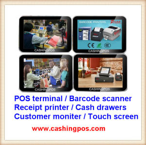 Electronic POS Terminal Cash Register for Point-of-Sale System pictures & photos