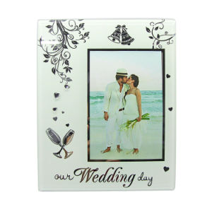 New Arrival Wedding  Gift Souvenir Glass Photo Frame Hx-1980 pictures & photos